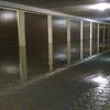 Zalane garaże przy Jana Pawła II w Ełku