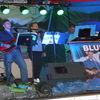 Zabawa przy muzyce zespołu Blue Band i kabaretu