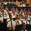 Policjanci świętowali w iławskim kinoteatrze