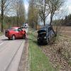 Miłostajki. Zderzyły się dwa samochody osobowe i ciężarówka
