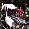 Wypadek na trasie Iława - Sampława