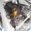 Pożar samochodu w Lubawie