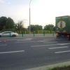 Kraksa na Tuwima w Olsztynie