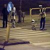 Motocyklista potrącił pieszego na przejściu