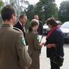 Prezydentowa w Placówce Straży Granicznej w Baniach Mazurskich