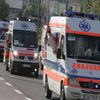 Parada Honorowa karetek po ulicach Olsztyna