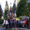 Pielgrzymi w Gietrzwałdzie