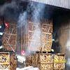 Płoskinia – pożar suszarni