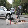 Wypadek na skrzyżowaniu alei Sybiraków i ulicy Wojska Polskiego
