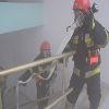 Pozorowany pożar w Sklejce