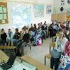 Pracownicy UWM w gimnazjum w Dźwierzutach