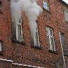 Pożar w kamienicy w centrum miasta