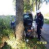 Pluty, Jeep uderzył w drzewo