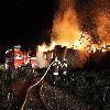 Pożar w Kabikiejmach Dolnych