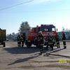 Chruściel, pożar w tartaku — ćwiczenia strażackie