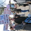 W Łukcie mieszkańcy zablokowali drogę