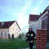 Wilczęta, pożar kościoła — ćwiczenia