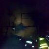 Frombork, po pożarze gołębnika