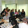 Uczniowie z Grabowa w siedzibie Gazety Olsztyńskiej