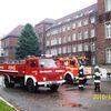 Frombork, ćwiczenia strażackie