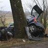 Opel uderzył w drzewo