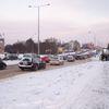Poranne korki na olsztyńskich ulicach