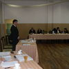 Płoskinia, pierwsza sesja Rady Gminy