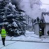 Pożar w Domu Dziecka w Szymonowie