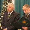 Orneta, ślubowanie burmistrza Ireneusza Popiela