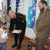 Dzieci dostały nagrody za udział w konkursie