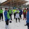 Noworoczny mecz piłki nożnej Czarni Olecko - Reszta Świata