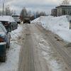 Śnieg zalega na parkingach