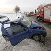 Na DK 51 zderzyły się trzy auta