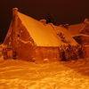 Zimowy Reszel nocą