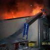 Pieniężno, pożar sklepu