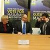 Podpisanie umowy na rozbudowę pola golfowego w Naterkach