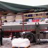 Transport z darami dla powodzian