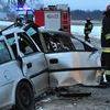 Wypadek na trasie Iława - Zalewo