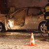 Spaliło się auto