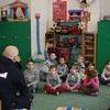 Wizyta policjanta w ZSS w Stradunach