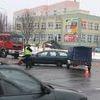 Wypadek na Wyszyńskiego w Olsztynie. Kierowca w szpitalu
