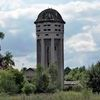 Kolejowa wieża ciśnień w Piszu