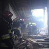 Susz. Pożar pałacu w Nipkowiu