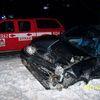 Piotrowiec, zderzenie dwóch samochodów