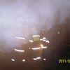 Słup, pożar stodoły