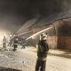 Pożar budynku gospodaczego w centrum wsi