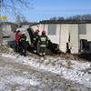 Strażacy ratują świnie