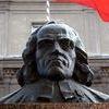 Pomnik Krzysztofa Celestyna Mrongowiusza w Mrągowie