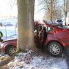 Wypadek koło Jonkowa. Kierowca nie żyje