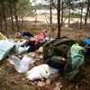 Śmieci nad wyrobiskiem w Nielbarku